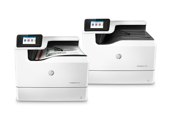 HP A3 PageWide Enterprise and Pro printers