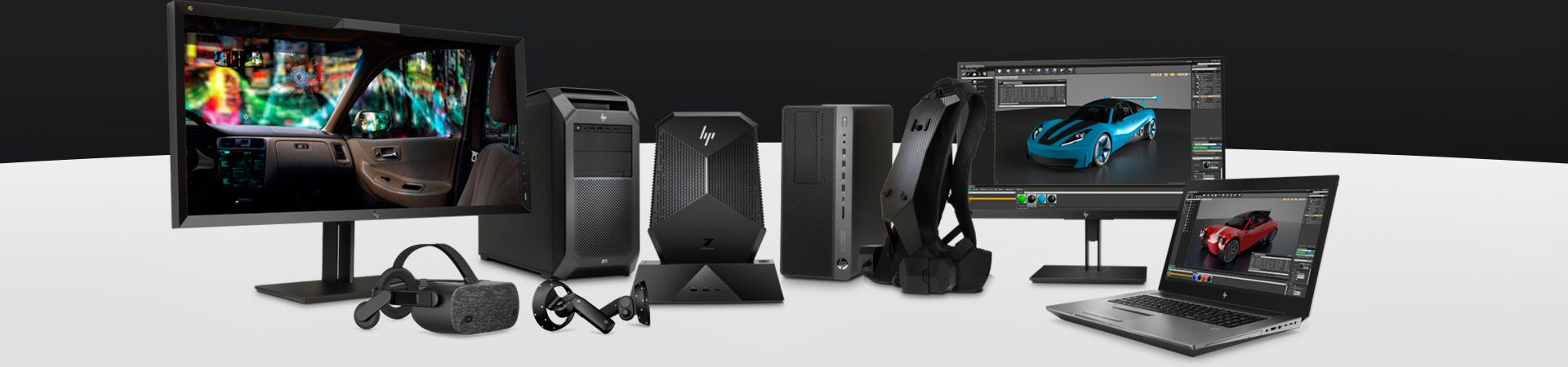 HP Family of VR ready products