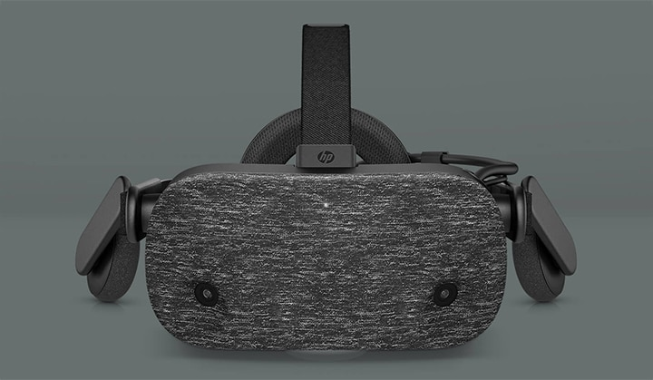 HP Reverb VR Headset - Pro Edition side by side
