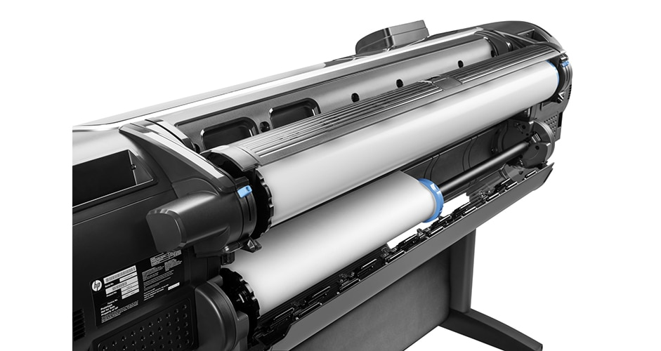 Close-up view of the HP DesignJet Z5600 PostScript® Printer