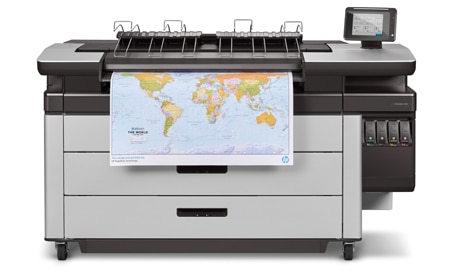 HP Indigo 10000 digital press is a 750 mm (29-inch) press with printing speeds up to 4,600 B2 sheets an hour