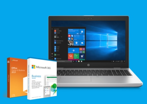 Buy any HP ProBook series laptop and get Microsoft 365 Business Standard or Office Home & Business 2019