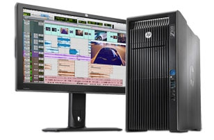 Avid and HP Z820 Workstations