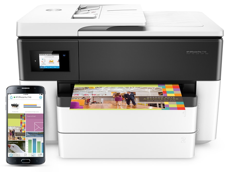 Meet the HP OfficeJet Pro Wide-format All-in-Ones