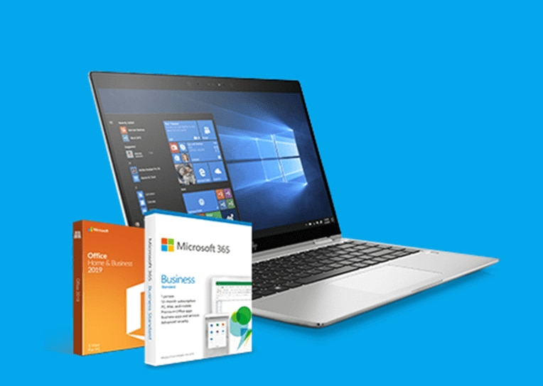 Buy any HP EliteBook series laptop and get Microsoft 365 Business Standard or Office Home & Business 2019
