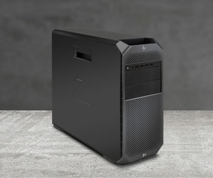 HP Z8 tower workstation offers more power than the Zbook 17 laptop workstation