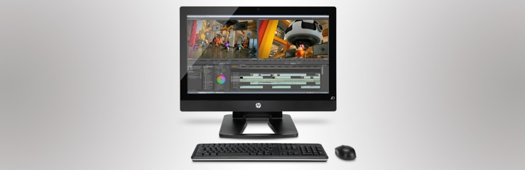 HP Workstation Todo-en-Uno
