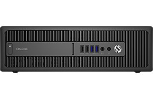 HP EliteDesk 800 factor de forma reducido