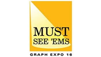 Logotipo Graph Expo 16 Must See 'Em