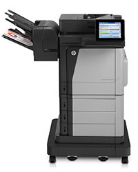 Impressora multifuncional HP Color LaserJet Enterprise Flow M680f