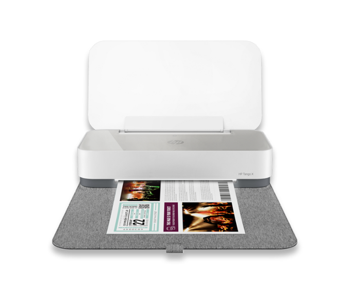 Connect and print from any device, anywhere. - HP TANGO