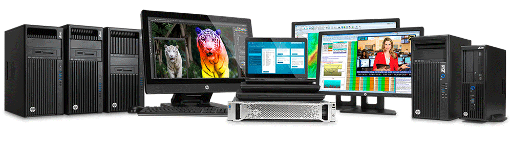 HP Workstations Family
