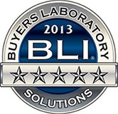 BLI Security Solutions Badge