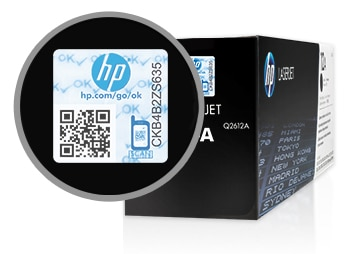 Avoid counterfeit reproduction with new HP security seals