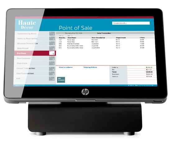 Hp Retail Solutions Point Of Sale Systems Hp 174 Canada