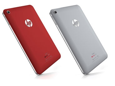 HP Slate7 in selected colors
