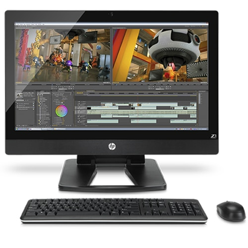 HP Z1 All In One Workstation PC   Powerful 27 Inch AIO