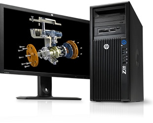 HP Z220 workstations processors