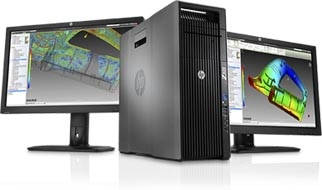 HP Z620 workstation performance