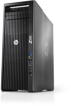 HP Z620 workstation form factor