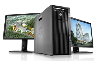 HP Z820 workstation processors