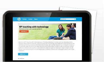 Online courses for teachers