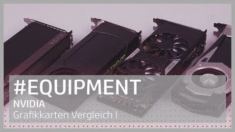 NVIDIA Grafikkarten vergleich I Video