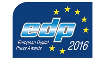 Logo der European Digital Press Association Awards 2016