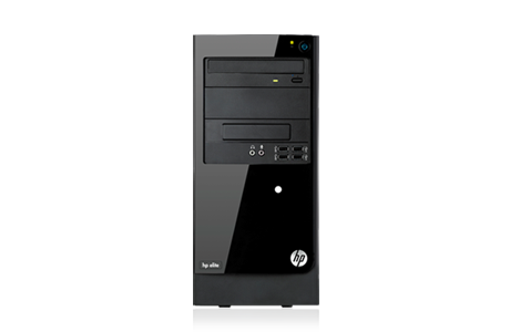 HP Elite 7300 Microtower - Front view
