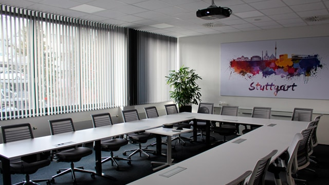 image of Boeblingen welcome center conference room