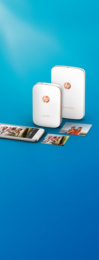 mobile phone with Wide range of HP Sprocket printers and print outs