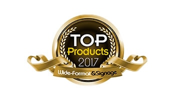 HP Latex 1500 Printer awarded the Wide-Format & Signage Readers' Choice Top Products Award.