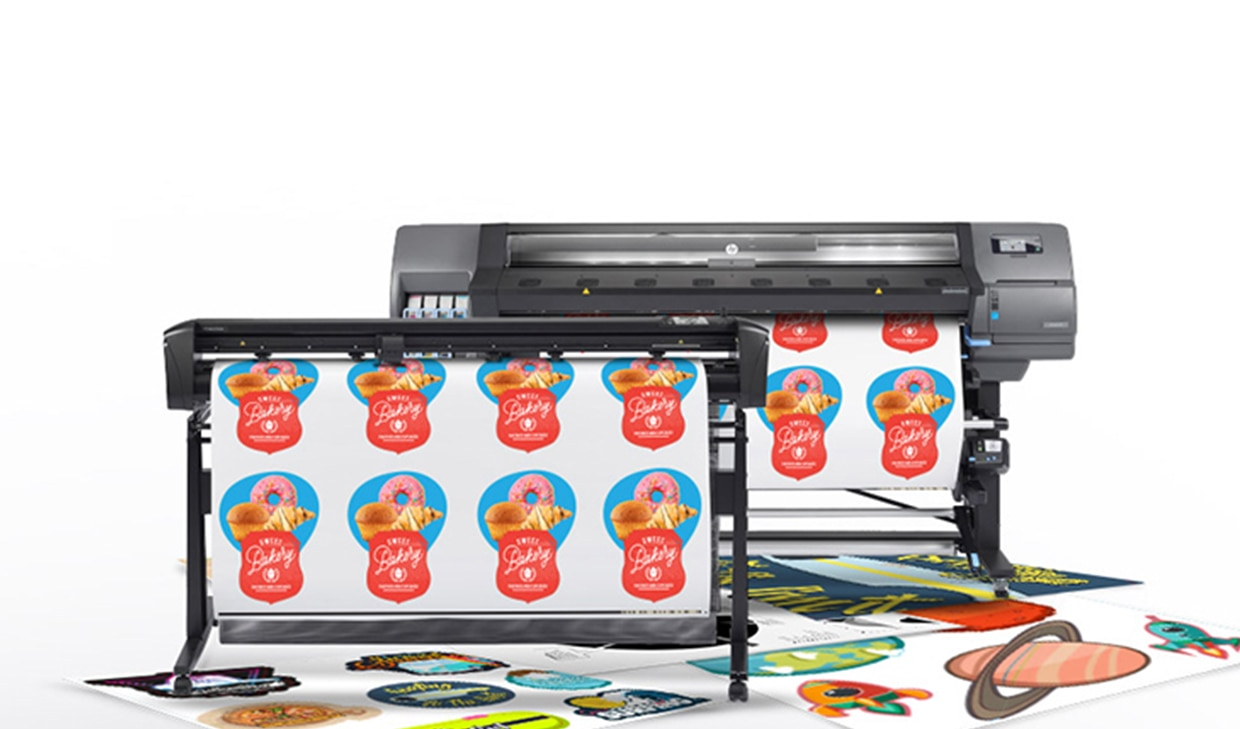 HP Latex 335 Print and Cut Solution | HP® Middle East