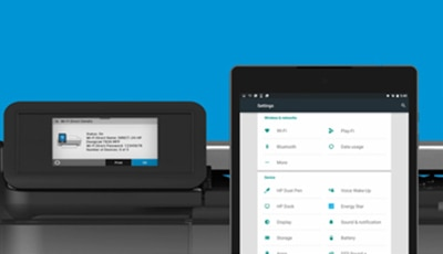 Connect your mobile device to the printer