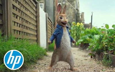 Animal Logic Uses VFX & Live Action to Make Peter Rabbit Film with Z by HP