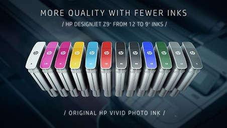 Professional, high-definition prints with HP Vivid Photo Inks