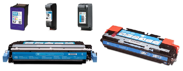 Original HP print cartridges