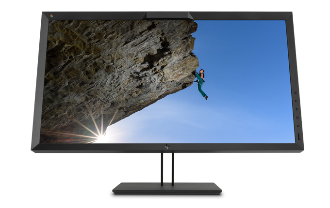 Frontal de los monitores Dreamcolor