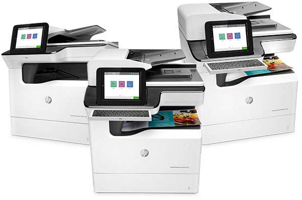 HP A3 PageWide Enterprise and Pro MFPs
