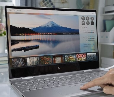 HP ENVY x360 right view