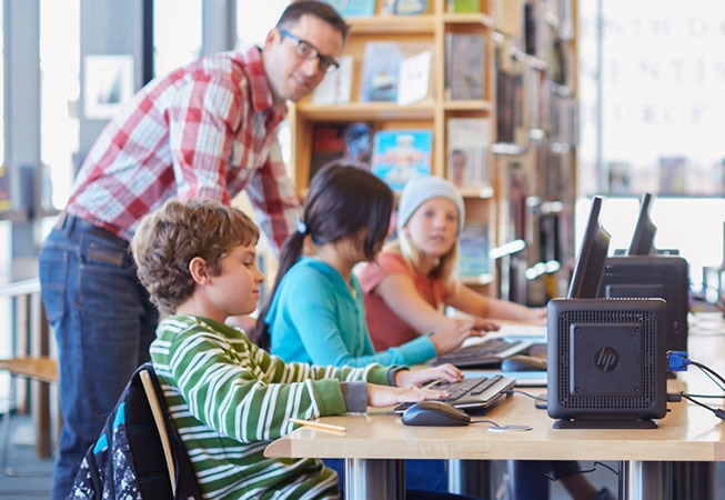 HP Thin Client solutions for education engage students