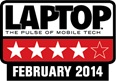 LAPTOP. The pulse of mobile tech. February 2014