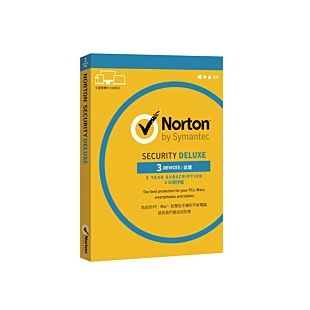 Norton Security Deluxe 3.0 Hk 1 User 3 Devices For 24 Months