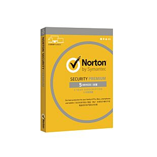 Norton Security Premium 3.0 25gb Cloud Storage Hk 1 User 5 Devices For 24 Months