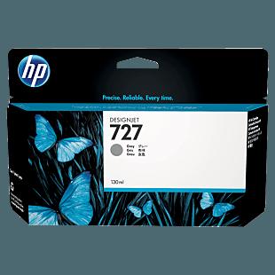 HP 727 130-ml Gray DesignJet Ink Cartridge