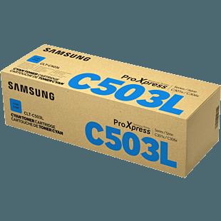 Samsung CLT-C503L 高產 青色碳粉盒