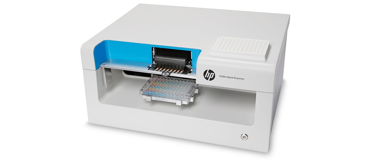 HP D300e Digital Dispenser