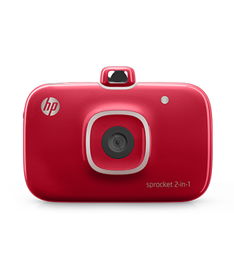 HP sprocket 2 in 1