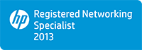 HP Registered Networking (RNS) Specializáció