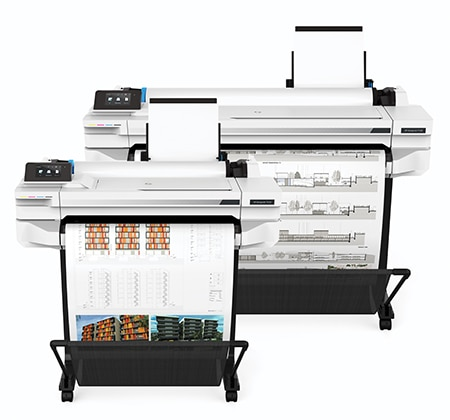 HP DesignJet T500 Printer series products